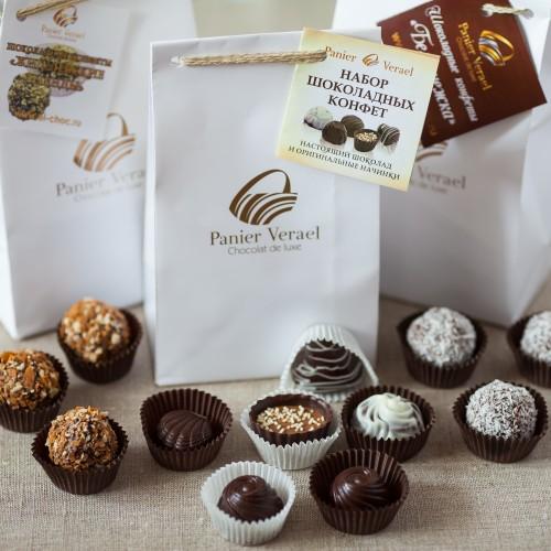 Набор шоколадных конфет 115 гр